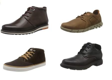 Chollos en tallas botas y botines de marcas como Pikolinos, Quiksilver, Caterpillar o Clarks en Amazon