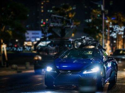 Lexus LC 500, estrella invitada en la nueva película de Marvel Studios, Black Panther