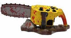Sierra mecánica para jugar a Resident Evil 4