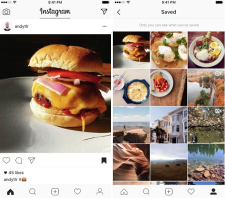 Instagram ahora te permite guardar fotos y vídeos, pero solo en su aplicación