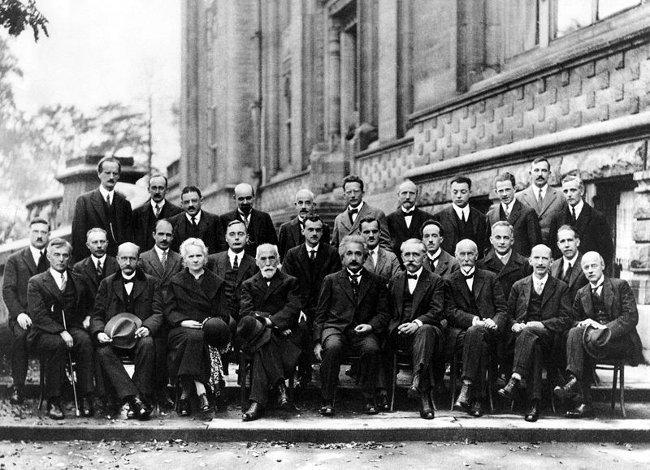 Miembros de la comunidad científica, 1927
