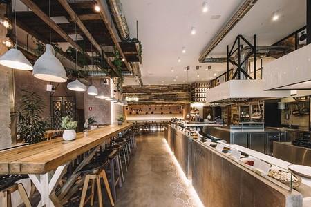 Honest Greens, comida saludable en un local de diseño