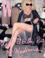 Madonna muy provocativa en la revista W