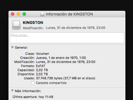 Kingston Ultimate Gt Formato