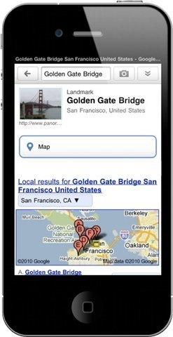 Google Goggles llega finalmente al iPhone