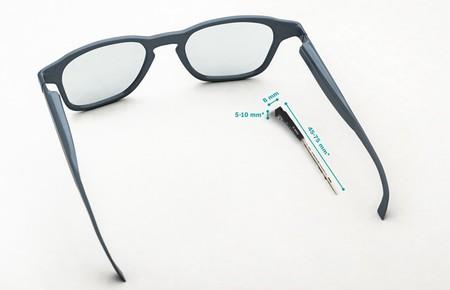 Bosch crea un proyector para gafas inteligentes que cabe en la montura y puede adaptarse a gafas graduadas