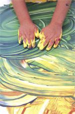 Pintura dactilar o Pintadedos para hacer en casa