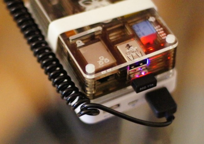 Adaptador Wi-Fi en la Raspberry Pi