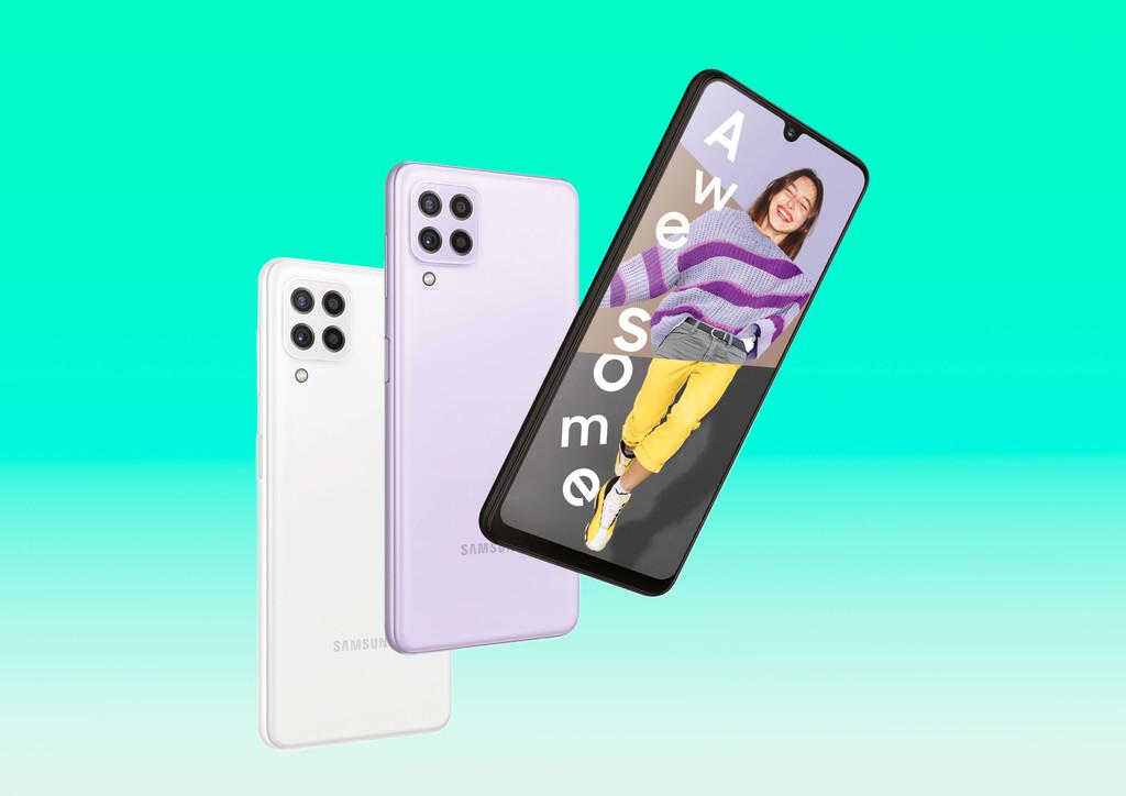 Samsung Galaxy A22 4G y 5G: el móvil con 5G más económico del momento llega con una gran batería y un mellizo 4G
