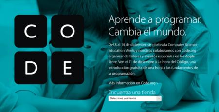Apple celebrará los talleres de Hour of Code 2014 en sus tiendas españolas