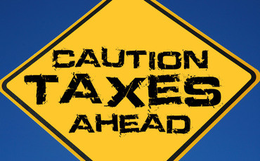Caution Taxes Tax 370x229