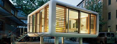 Loftcube, un mini loft nómada de 30 metros cuadrados que le da un poco de frescura al concepto de las mini casas