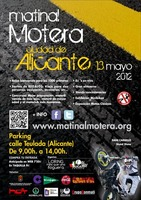 Primera Matinal Motera en Alicante