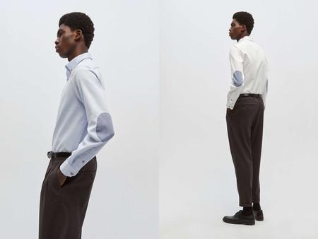 Las Camisas Con Coderas Regresan Al Armario Como El Toque De Color A Nuestros Looks De Oficina Gracias A Sfera 03