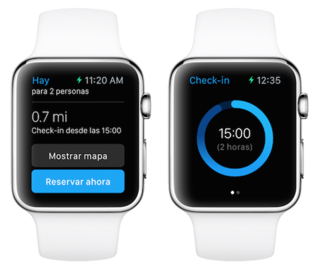 Booking Apple Watch 2