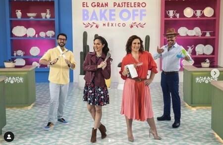 Benito Molina regresa como juez de Bake Off México, la primera producción mexicana de HBO Max, junto a Cositas y Lorena Herrera