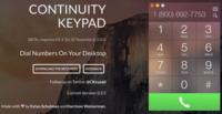 Con Continuity Keypad podrás marcar números telefónicos desde tu Mac con OS X Yosemite