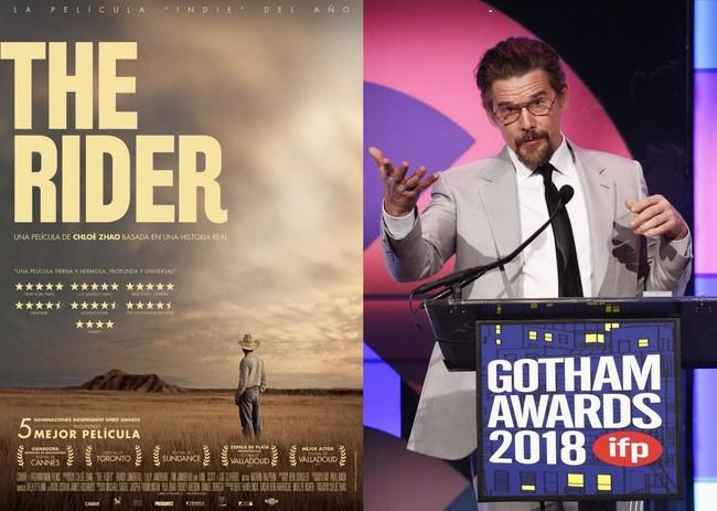 Gotham 2018: 'The Rider' se alza como la mejor película en los premios del cine independiente y Ethan Hawke deja un discursazo