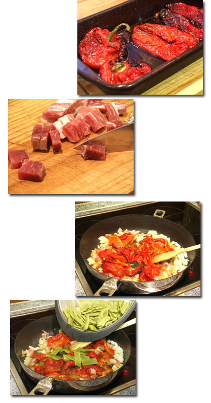 Receta de jud as verdes con pimientos asados - Tiempo de coccion de judias verdes ...