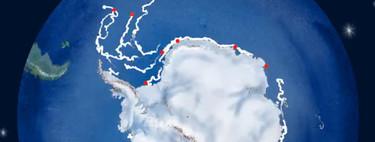Todos los icebergs que se han desprendido de la Antártida en los últimos 40 años, en un vídeo