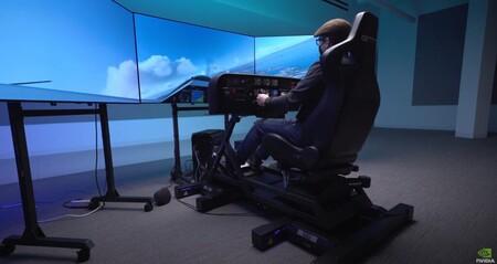 Prepara tu cartera: Nvidia GeForce Garage ha creado un simulador de vuelo de 20.000 euros para Microsoft Flight Simulator