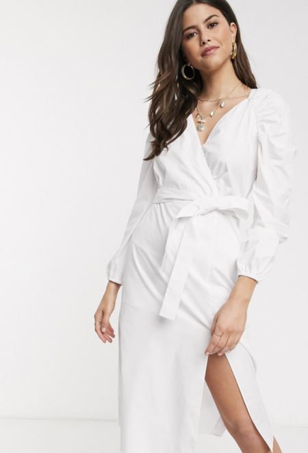 Vestido Blanco Tamara Falco 3