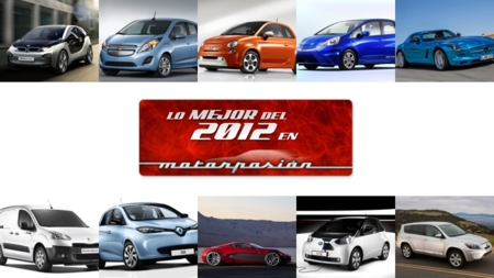 Mejor coche eléctrico de 2012 en Motorpasión - Canditatos