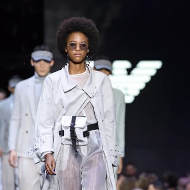 Lo mejor del segundo día de Milán Fashion Week Primavera/Verano 2019: Max Mara, Fendi, Prada, Moschino y Emporio Armani