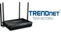 TRENDnet TEW-827DRU, un router WiFi AC con velocidades de hasta 2.600 Mbps