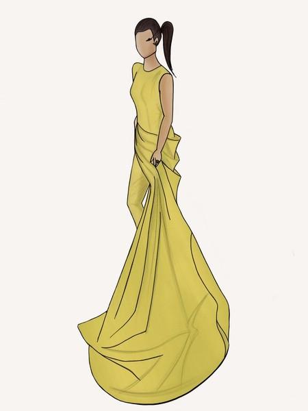Boceto Alicia Rueda