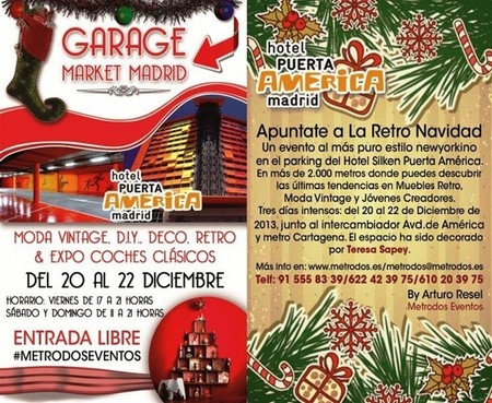 Garage Market en Hotel Puerta América