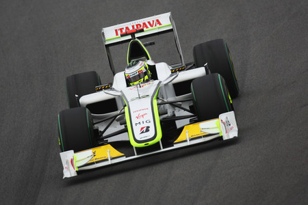 Button Brawngp F1 2009