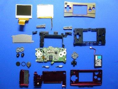 Disección de la GameBoy Micro