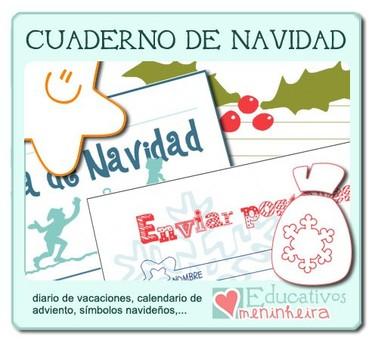 Cuaderno de Navidad de Educativos Meninheira