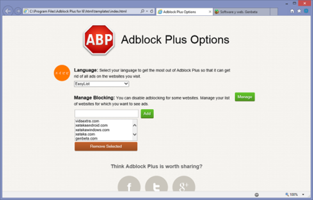 AdBlock Plus llega a Internet Explorer