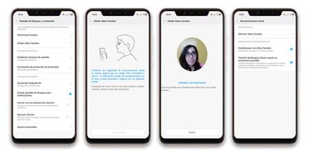 Xiaomi Mi 8 Pro Reconocimiento Facial