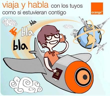 Viaja y habla de Orange: servicio de ahorro para las llamadas en roaming
