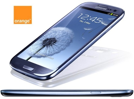 Samsung Galaxy SIII, ya disponible sus precios y reserva con Orange