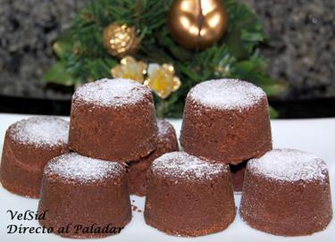 Polvorones de chocolate y jengibre