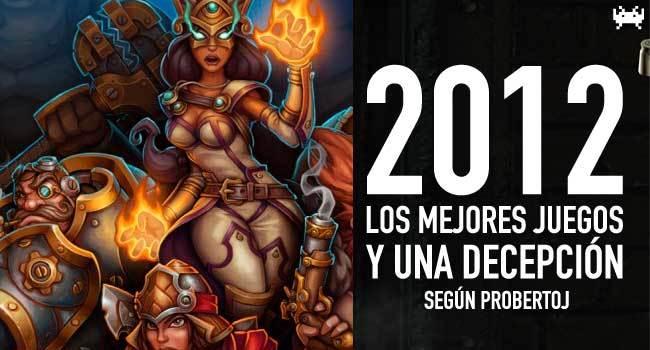 Los mejores juegos de 2012