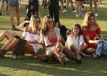 Las 13 celebrities mejor vestidas de Coachella 2017