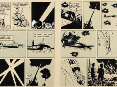 Se vende una plancha de un álbum de Tintín por 1.563.000 euros... ¡Qué locura!