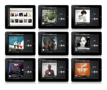 spotify radio ipad