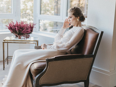 Las 9 tendencias de novia que tienes que saber si te casas en 2018