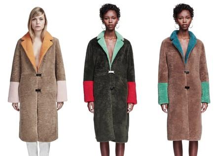 Sakss Potts Furry Coat