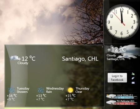 LongBar, una sidebar al estilo Longhorn para Windows Vista/7