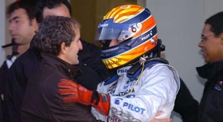 Alain Prost busca un test de F1 para su hijo