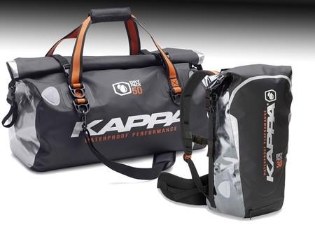 Nuevas bolsas Kappa Dry Pack impermeables