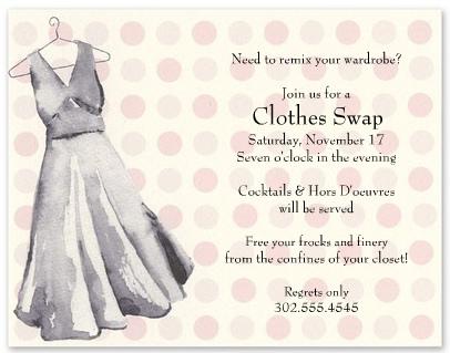 Celebra una Swap Party con tus amigas para intercambiarte ropa