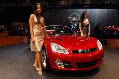 Presentación del nuevo Opel GT en Ginebra